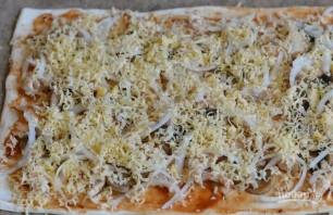 Пицца простая без дрожжей - фото шаг 5