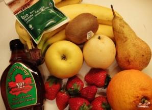 Сладкий салат из фруктов - фото шаг 1