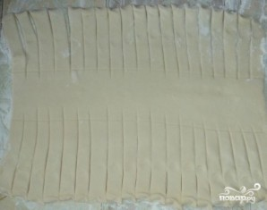 Слоеный сырный пирог - фото шаг 5