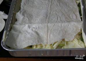 Слоеный пирог из лаваша - фото шаг 2