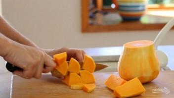 Тыквенно-сырные шарики - фото шаг 1