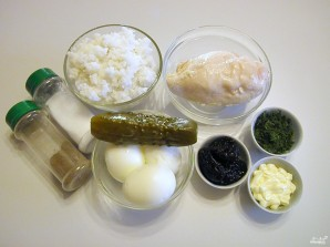 Салат из курицы с черносливом - фото шаг 1