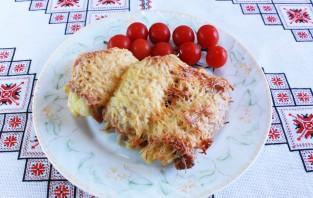 Картошка, запеченная со свининой и сыром - фото шаг 6