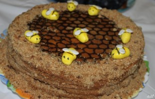 "Медовик ""Пчелка"" - фото шаг 5"