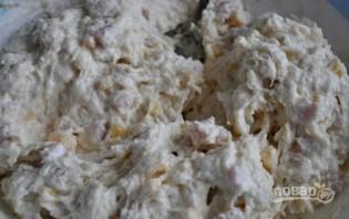 Закусочные маффины с ветчиной и сыром - фото шаг 4