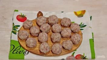Суп (лапша с фрикадельками) - фото шаг 2