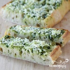 Бутерброды с базиликовым маслом - фото шаг 5