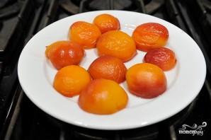 Персиковый десерт - фото шаг 8
