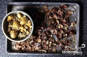 Печенье с запеченными каштанами - фото шаг 2