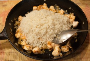 Рис с курицей и помидорами - фото шаг 5
