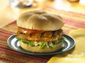 Вегетарианский бургер на скорую руку - фото шаг 3