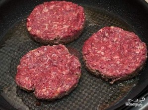 Бургеры из мраморной говядины - фото шаг 5