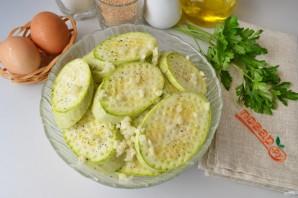 Вегетарианские отбивные из кабачков - фото шаг 3