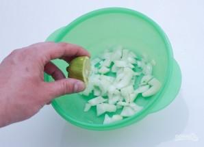 Витаминный фитнес-салат с киноа - фото шаг 3