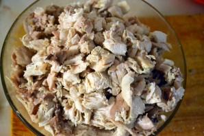 Курник с рисом и курицей - фото шаг 1