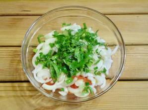 Салат к шашлыку - фото шаг 7
