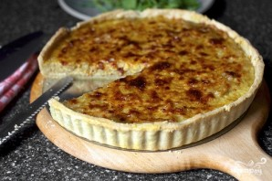 Французский луковый пирог - фото шаг 6