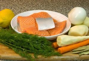Суп с рыбным филе - фото шаг 1