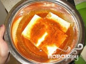 Жареный тофу - фото шаг 8