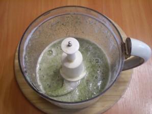 Вкусный зеленый коктейль - фото шаг 4
