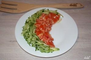 Салат в виде арбуза - фото шаг 6