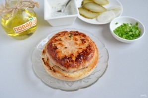 """Куриный бургер """"Тандури"""" - фото шаг 7"""