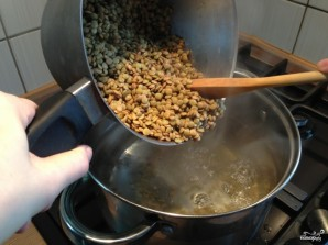 Суп-пюре из чечевицы зеленой - фото шаг 3