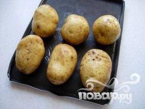 Запеченный картофель с травяным соусом - фото шаг 1