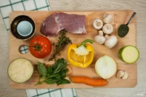 Овощное рагу со свининой - фото шаг 1