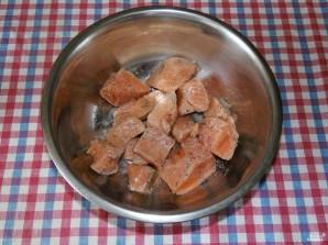 Семга в духовке в рукаве - фото шаг 1