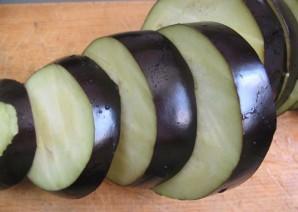 Баклажаны с салом на мангале - фото шаг 3