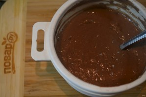 Шоколадные оладушки за 5 минут - фото шаг 2