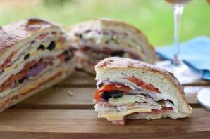 Быстрые бутерброды на природу - фото шаг 4