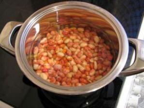 Фасоль с овощами - фото шаг 1