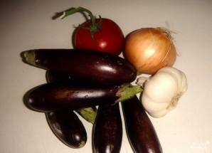 Суп-пюре из баклажанов - фото шаг 1