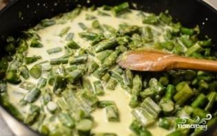 Спаржа в сливочном соусе - фото шаг 5