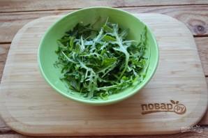 Салат с креветками и рукколой - фото шаг 1