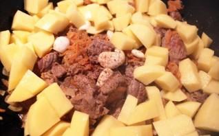 Рагу с бараниной и картошкой - фото шаг 3