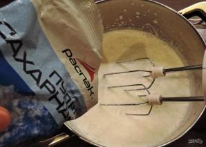Чизкейк с персиками - фото шаг 7