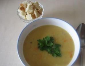 Гороховый суп с ребрами - фото шаг 4