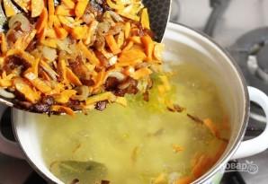 Картофельный суп с галушками - фото шаг 8
