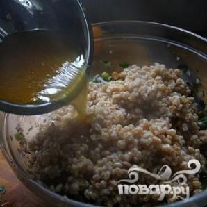 Салат с фарро, клюквой и сельдереем - фото шаг 4