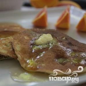 Апельсиновые оладьи с рикоттой - фото шаг 6