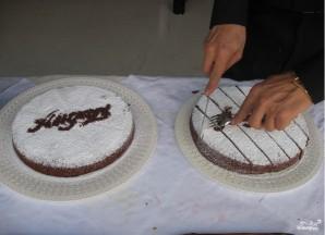 Шоколадный торт с цедрой - фото шаг 5