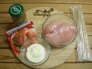 Куриные шашлычки на шпажках в духовке - фото шаг 1