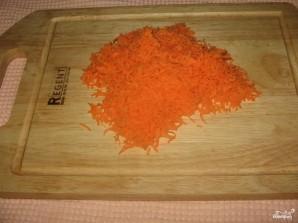 Салат с шампиньонами и фасолью - фото шаг 2