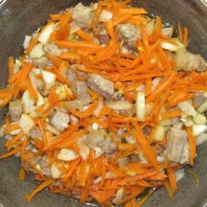 как приготовить плов из свинины в сковороде
