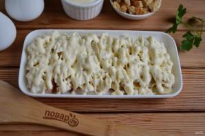 """Салат с грибами и сыром """"Искушение"""" - фото шаг 6"""