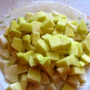 Постный борщ с фасолью - фото шаг 5