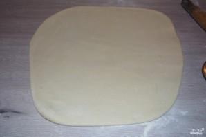 Пирог с яблоками из дрожжевого теста - фото шаг 2